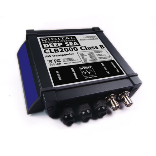 Digital Deep Sea CLB2000 Class B Transponder With Combination VHF/GPS Antenna