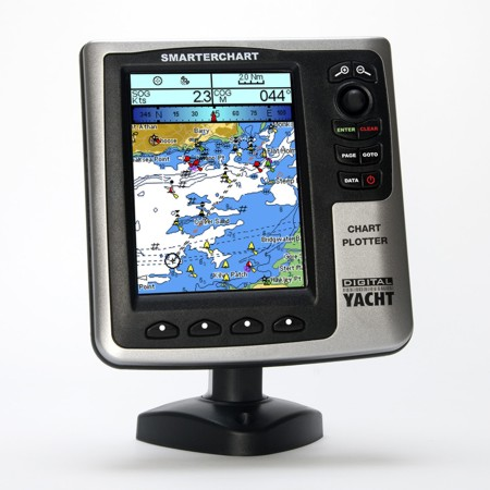 DIGITAL YACHT SC500 GPS CHART PLOTTER WITH FREE LOCAL CHART