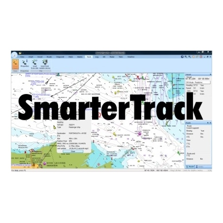 Digital Yacht Smartertrack Pc Navigator S/w Pack And Reader