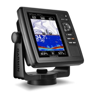 GARMIN GPSMAP 557XS 5 INCH PLOTTER/SOUNDER WITH UK CHARTS