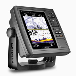 GARMIN ECHOMAP 50S 5 INCH SOUNDER/PLOTTER INC UK CHARTS