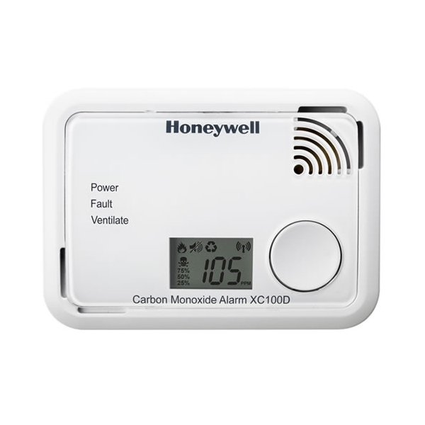 Honeywell XC100 Battery Operated Carbon Monoxide Alarm