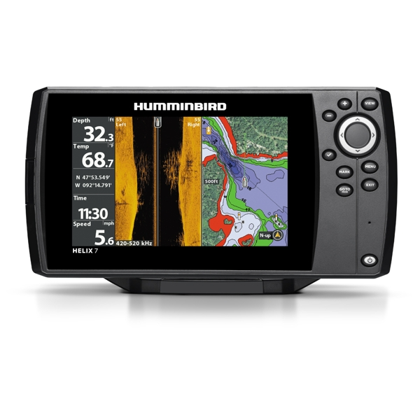 Humminbird HELIX 7 CHIRP SI GPS G2 With Transom Mounted TR