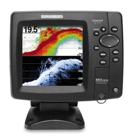 Humminbird 597cxi Di Colour Combo Sounder Plotter With Tm Tr