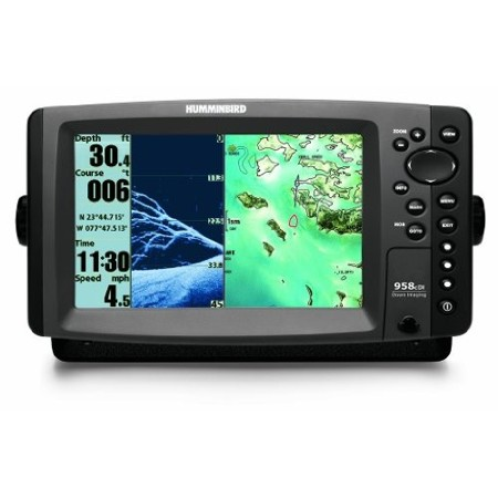 HUMMINBIRD 958CX DI COMBO SOUNDER PLOTTER WITH TM TR