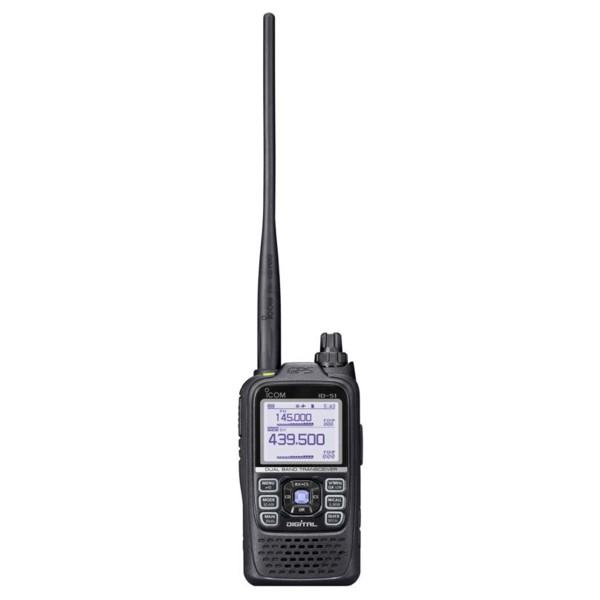 Icom D-STAR VHF / UHF Dual Band Transceiver (ID-51E)