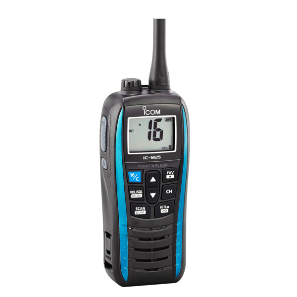 Icom IC-M25 EURO Handheld VHF With Blue Band