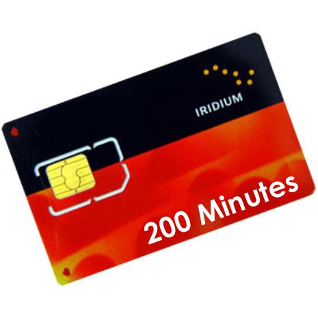 Iridium 200 Minute Pre-Paid Voucher (6 Months Validity)