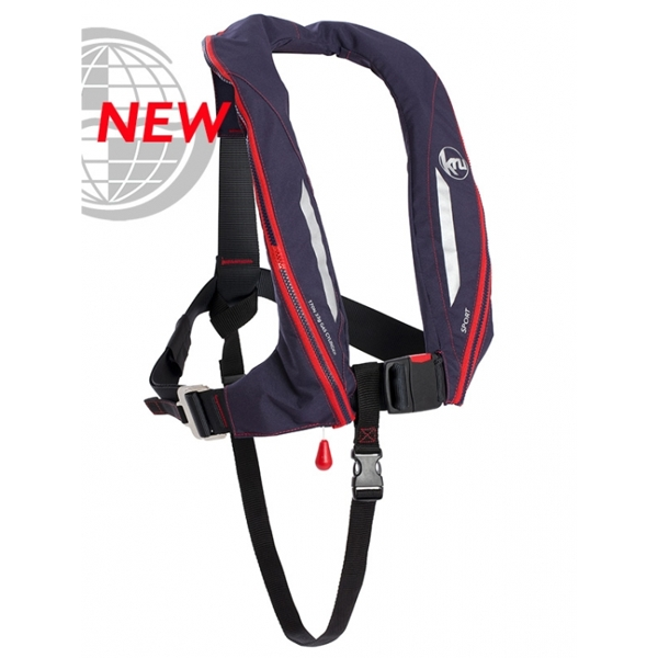 Kru Sport ADV - Automatic + Harness - Navy