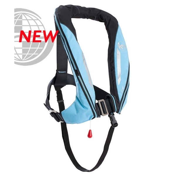 Kru Sport ADV - Automatic + Harness - Sky Blue/Carbon