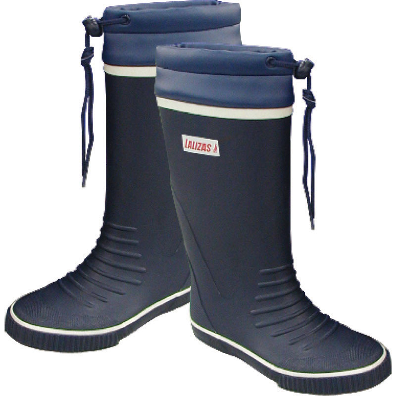 Long Leg Tie-top Rubber Sailing Boots No.45