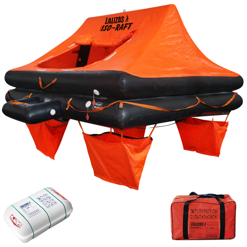 Lalizas Intern. Liferaft Iso-raft 12 Prs Canister