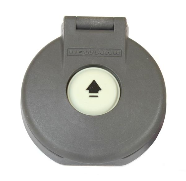Lewmar Electric Deck Switch (open) Grey