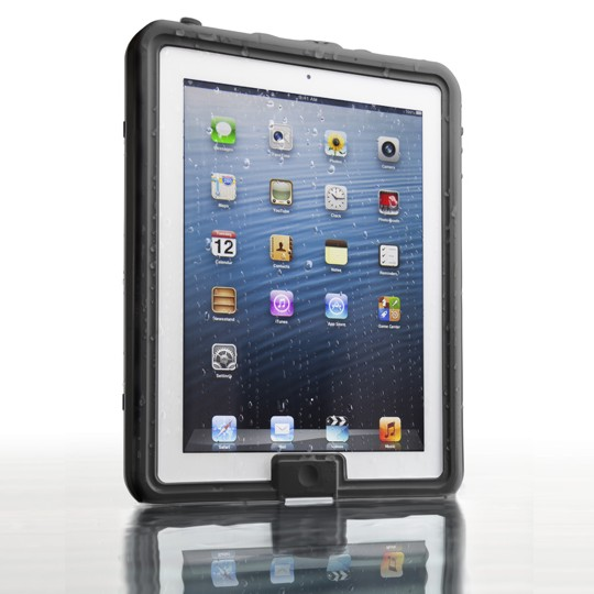 Lifedge Waterproof Case For Ipad (new Design) - Haar (dark Grey)