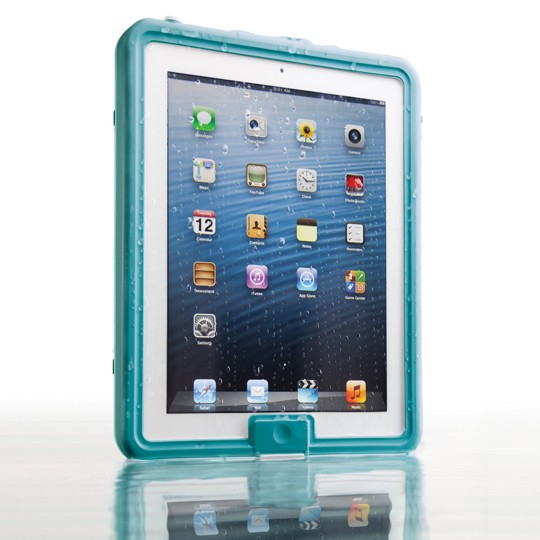 Lifedge Waterproof Case for iPad (new design) - Torsken (Aqua)