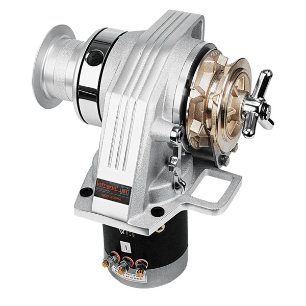 Lofrans Kobra Windlass 24v 1000W 6mm Gypsy With Drum
