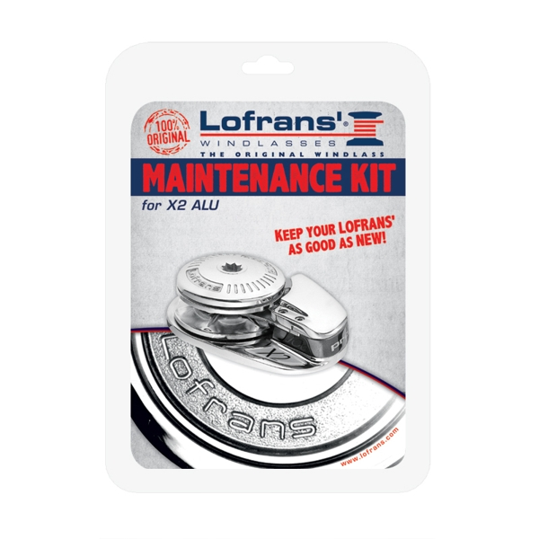 Lofrans Maintenance Kit for X2 Aluminium Windlass