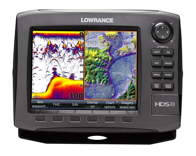 Lowrance HDS-8 GEN 2 Plotter / Sounder W/O Transducer with EMEA Download Kit