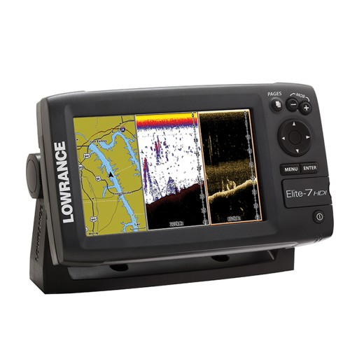 Lowrance ELITE-7 HDI fishfinder/chartplotter EMEA Download Kit (No Transducer)