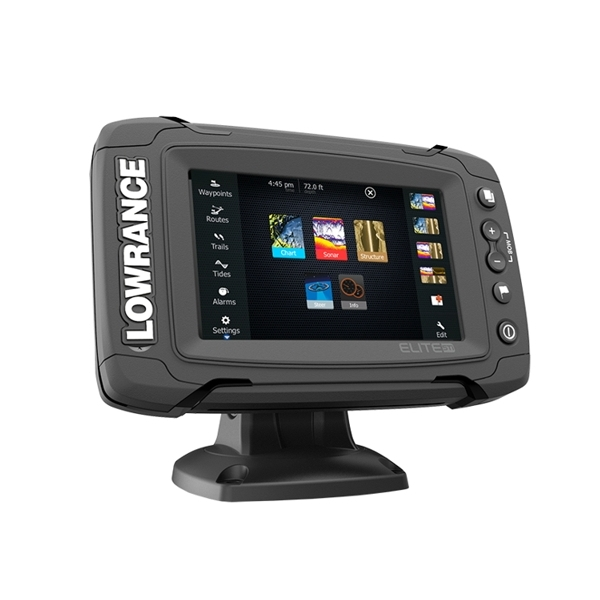 Lowrance Elite-5 Ti Fishfinder / Chart Plotter NO Transducer