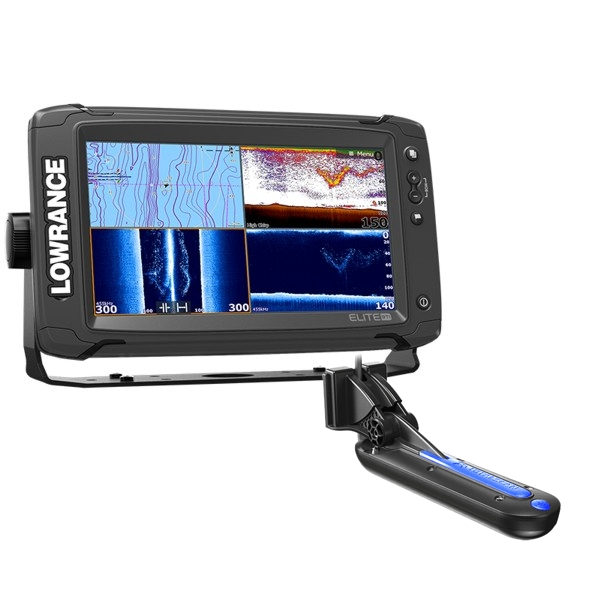 Lowrance Elite-9 Ti Fishfinder/Chartplotter with TotalScan™ Transducer