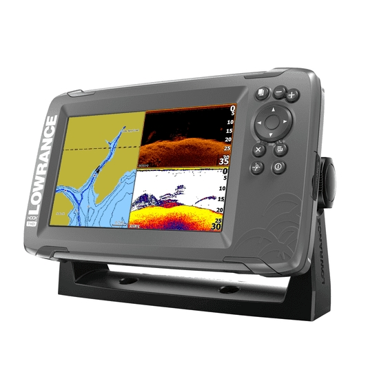 Lowrance HOOK 2-7 7 Inch Chart / Fishfinder With SplitShot TR (DownScan)