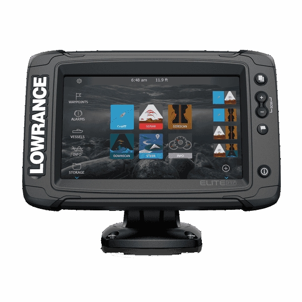 Lowrance Elite-7 Ti2 With HDI Transom Transducer
