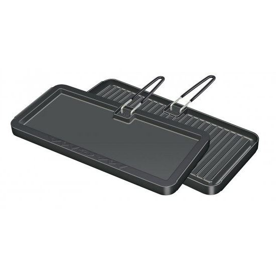 Magma Rectangular Griddle - Non Stick & Reversible (8 x 17 Inches)