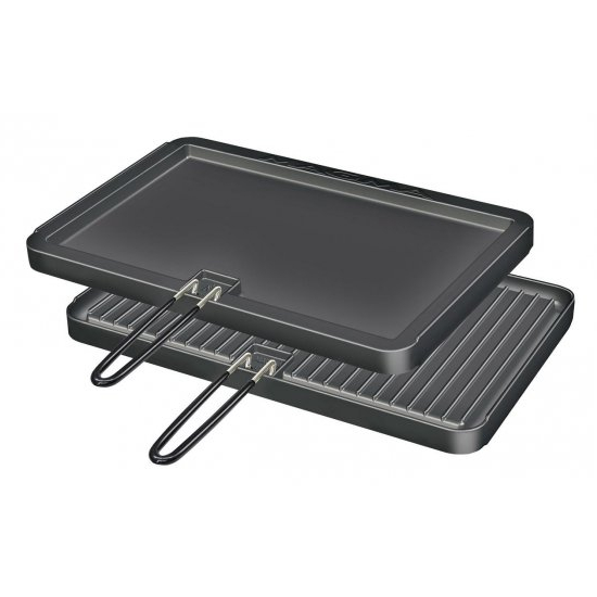 Magma Rectangular Griddle - Non Stick & Reversible (11 x 17 Inches)