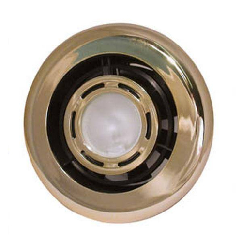 Manrose Marine Extract-A-Lite 24V Shower/Fan Light 100mm Gold