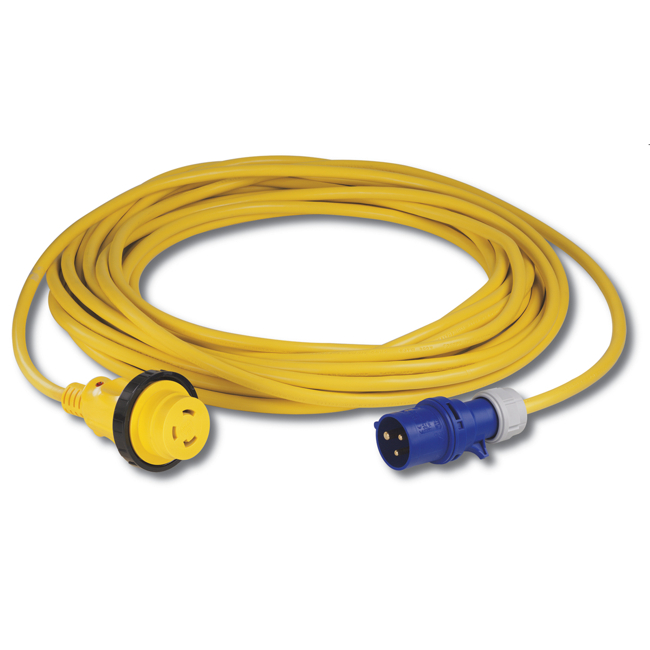 Marinco 16A 25m Shore Power Cordset With EZ Lock