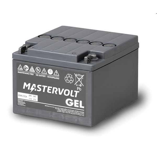 Mastervolt MVG Gel Battery 12v/25Ah