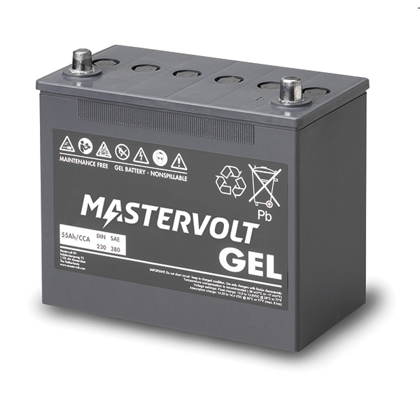 Mastervolt MVG Gel Battery 12v/55Ah