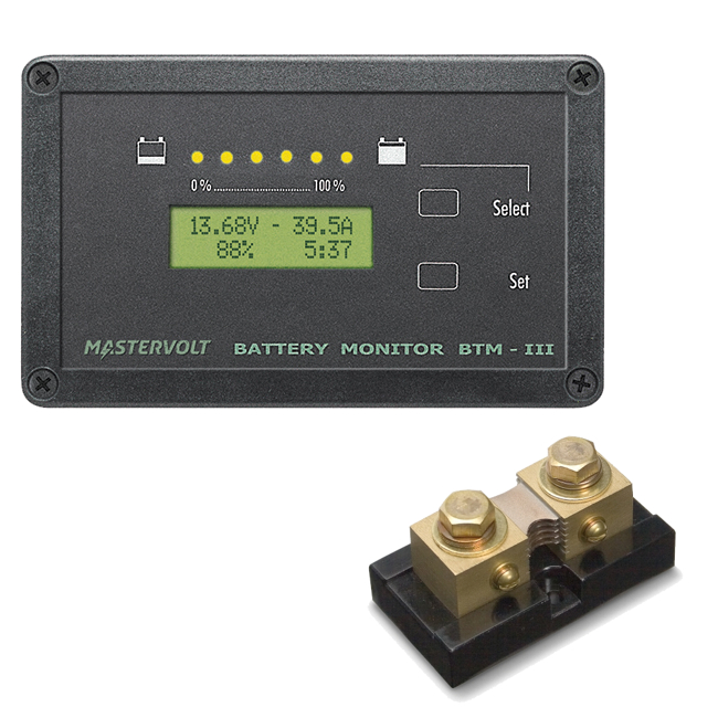 Mastervolt BTM-III Masterlink Battery Monitor