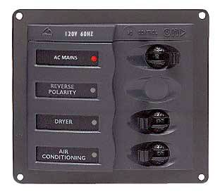 BEP 2 WAY AC CIRCUIT BREAKER PANEL