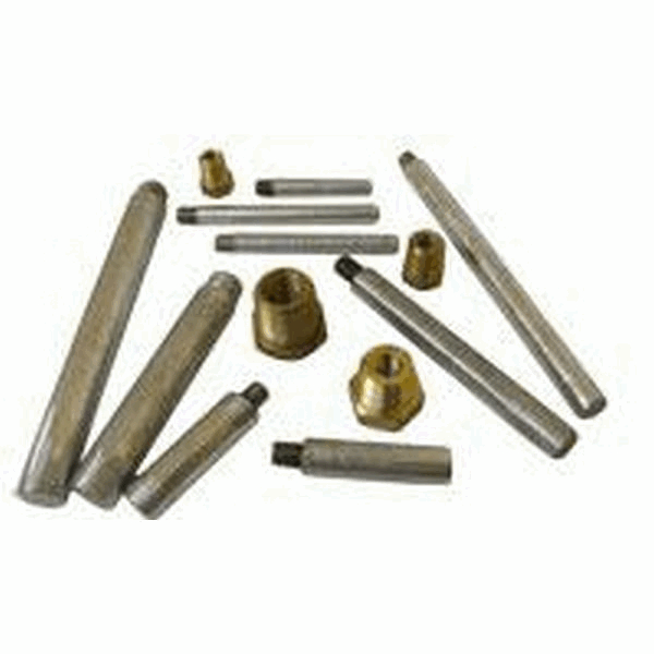 MG Duff P625 5/8x4 Solid Zinc Pencil Anodes