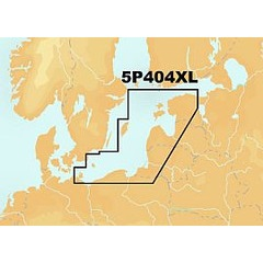 Navionics Platinum+ XL - CF Card-  Estonia To Poland