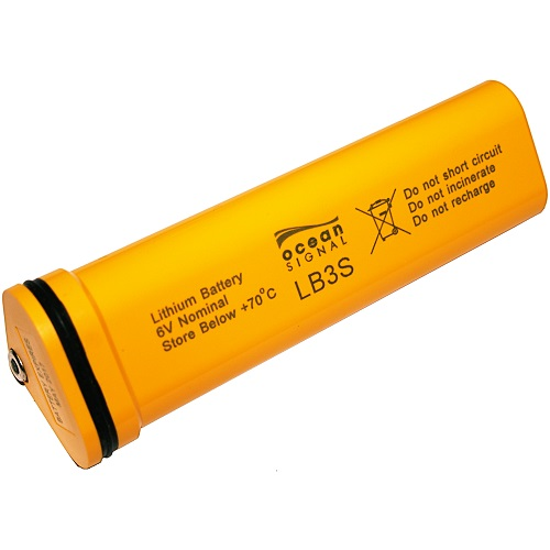 Ocean Signal Seasafe Lb3s S100 Sart Replacement Battery