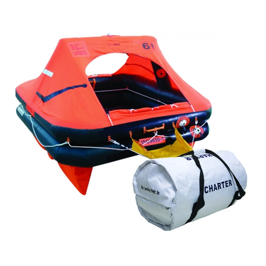 Ocean Safety Charter ISO9650-1 8 Man Valise Liferaft