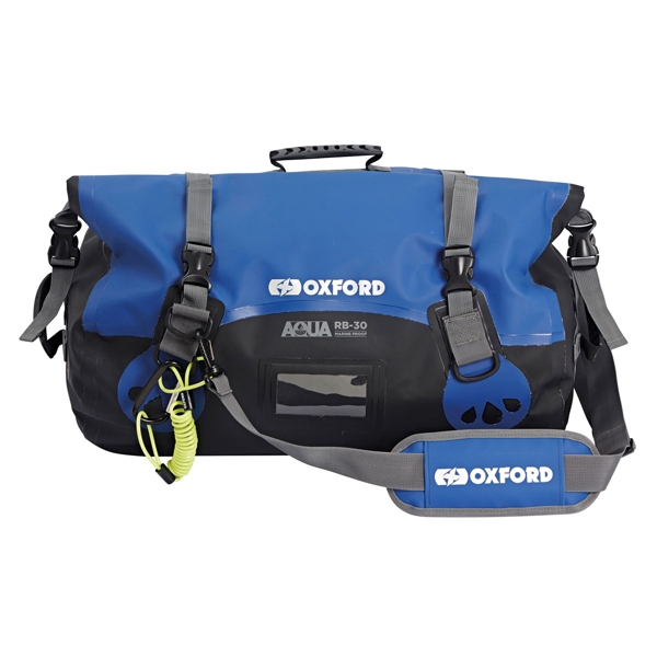 Oxford Aqua RB30 Roll Bag Black/Blue