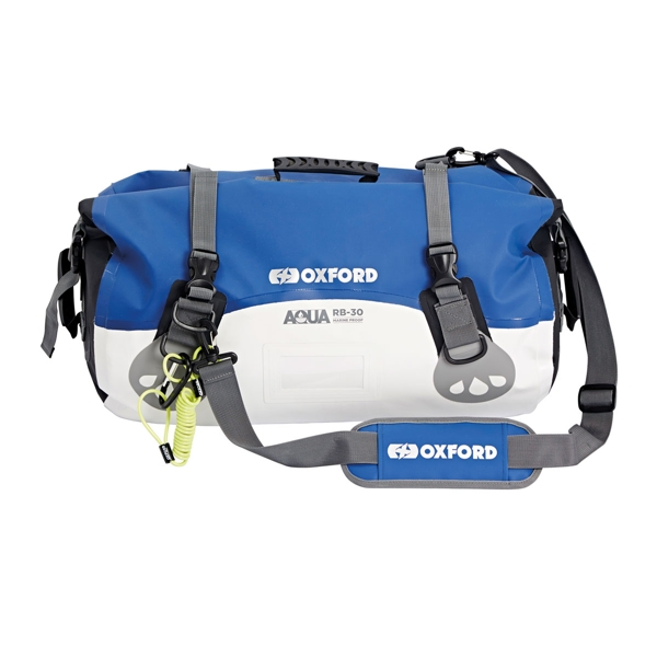 Oxford Aqua RB30 Roll Bag White/Blue