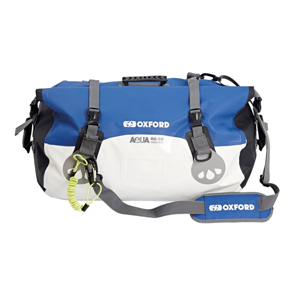 Oxford Aqua RB50 Roll Bag White/Blue