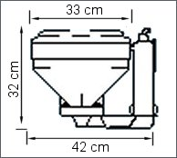 Plastimo Manual Toilet Std China Bowl