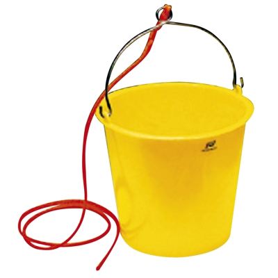 PLASTIC BUCKET 10Ltr WITH ROPE