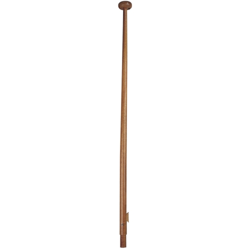 Plastimo Flag Staff - Mahogany 65cm Wood Cleat