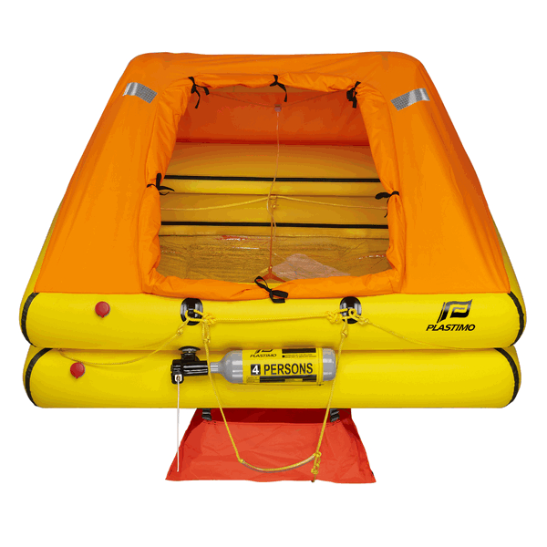 Plastimo 4 Man Cruiser Standard Liferaft with Valise