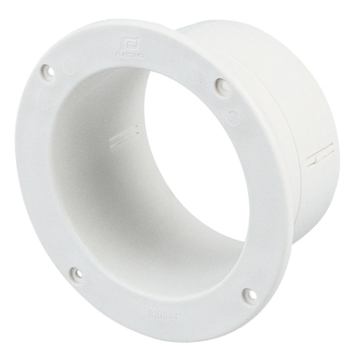 Connector For Ventilation Shaft - Straight 4 Inch