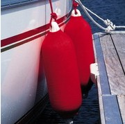 RED LONG FENDER SOCK - 30cm X 76cm