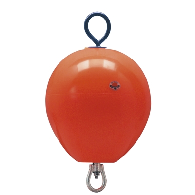 Polyform Mooring Buoy With Rod 450mm Orange