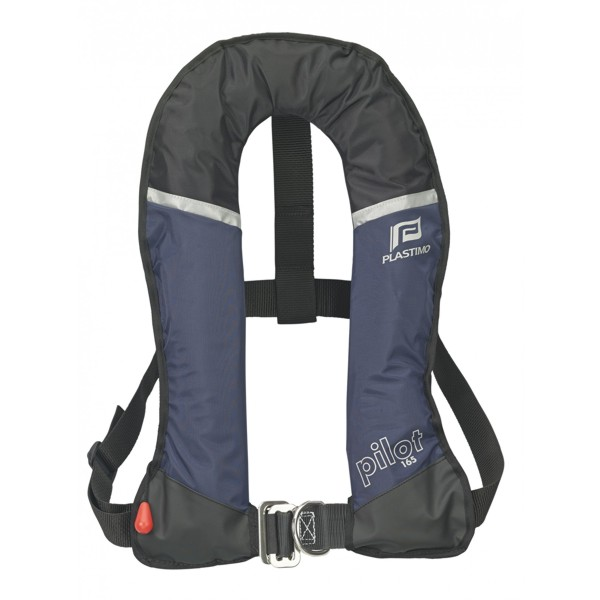 Plastimo Pilot 165 Lifejacket Navy Automatic with Crutch Strap & Harness